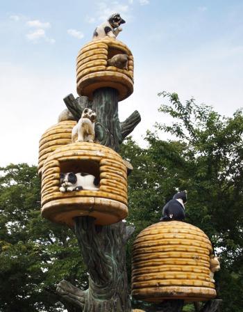 関川村  猫ちぐら