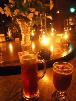 小樽ビール & 特製ミルクティー