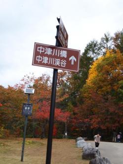 中津川渓谷と橋に行けます