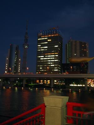 浅草・吾妻橋からの眺め
