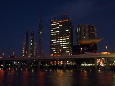 浅草・吾妻橋から
