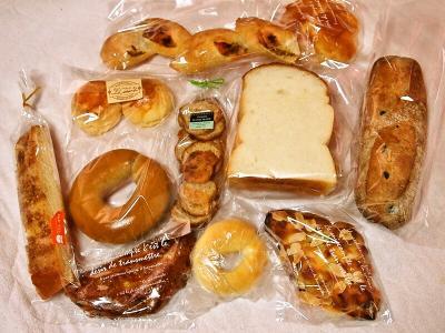キャナールのパン