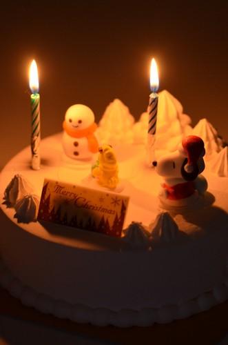 クリスマスケーキ20111225.jpg