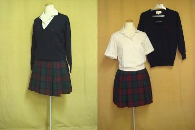 大西学園高等学校の制服