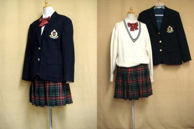 加治木女子高等学校の制服