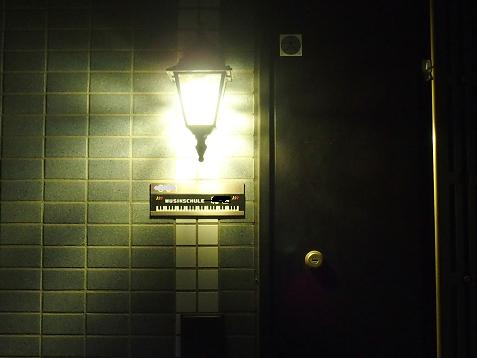 LEDの玄関灯