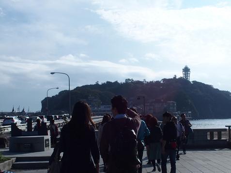 再度、江ノ島を目指すでしゅ