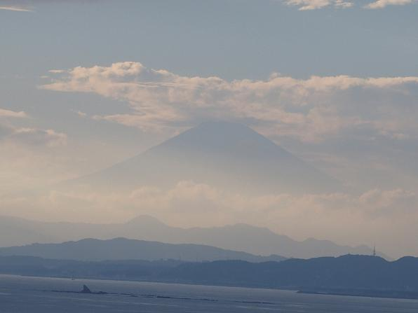 富士山が見えてきたでしゅ