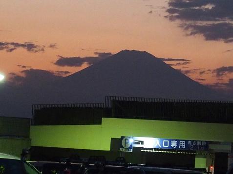マロちゃん、最後の富士山でしゅ