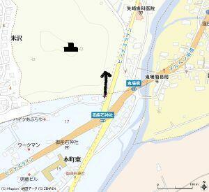 Map御座石神社交差点2s(補正)