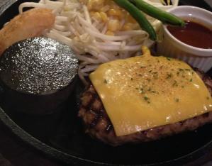 東京壱番チーズハンバーグ