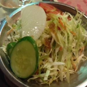 ネパリ―カレーサラダ