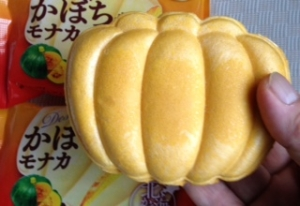 かぼちゃモナカ中