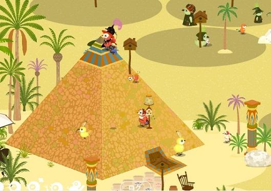 サンドストーム☆ピラミッド