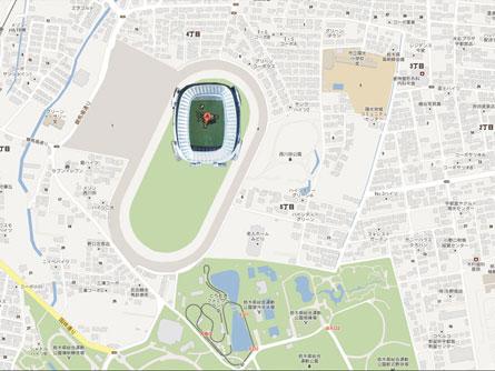 西川田駅イラスト445