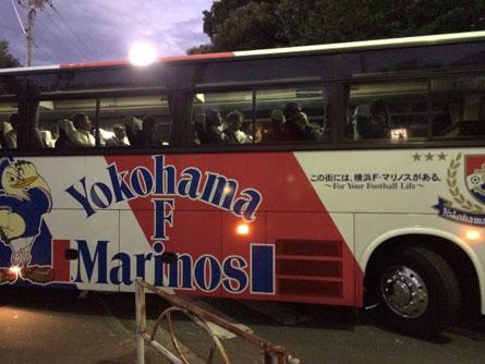 マリノス選手バス_131016