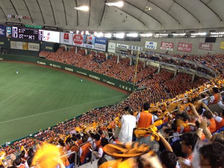 オレンジ東京ドーム_131101