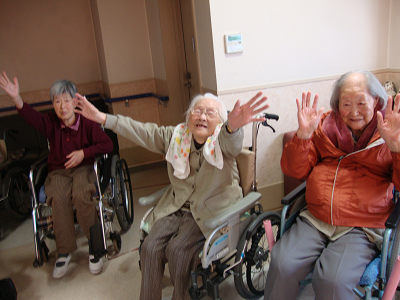 東京都 足立区 介護老人保健施設(入所・短期入所・通所リハビリ) 千寿の郷 レク ゲーム