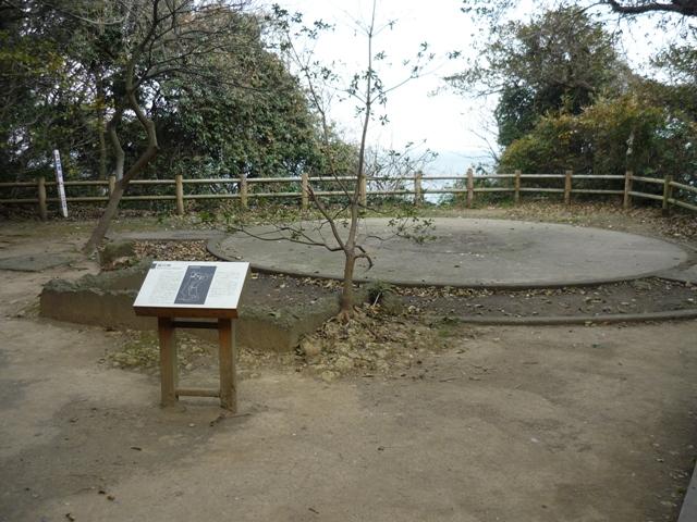 猿島高角砲台