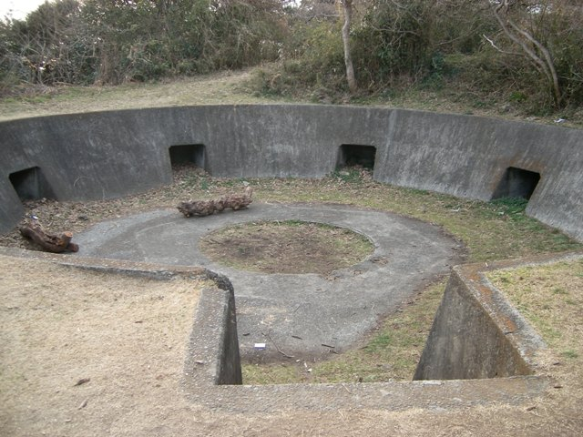 武山高角砲台(2)