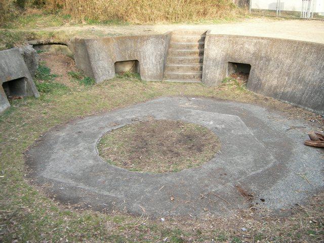 武山高角砲台(3)