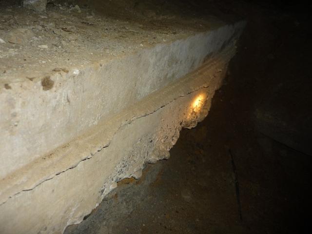分厚いコンクリート