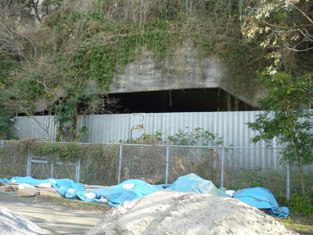 巨大掩体壕(反対側)