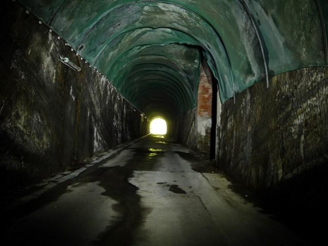 北門第二砲台(観音崎第二砲台)トンネル