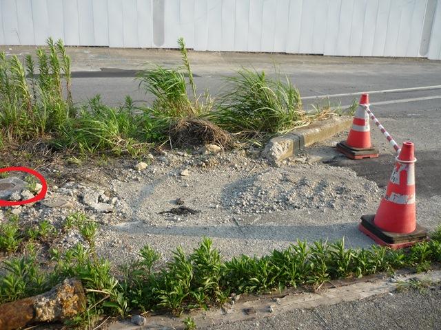迫る舗装工事