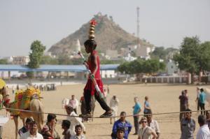 プシュカルラクダ祭り02