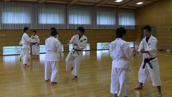 2012夏季合宿 相対練習