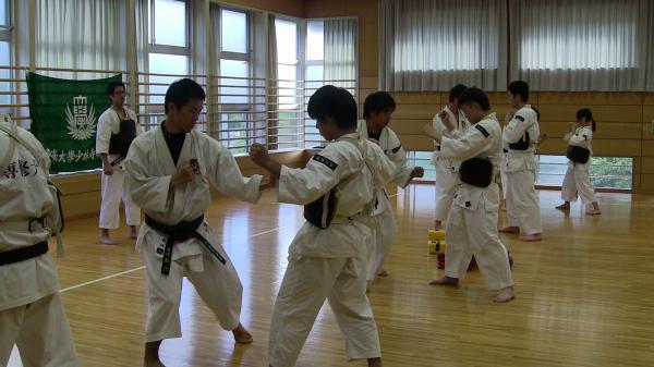 2012夏季合宿 3年胴突き