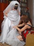 ウェディングドレス セクシー画像 1