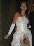 ウェディングドレス セクシー画像 5