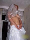ウェディングドレス セクシー画像 9