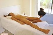 全裸西洋美女 ヴァギナマッサージ ヌード画像 16
