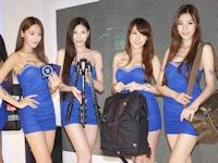 2014台北国際デジタル撮影機材展 ショーガール画像 その1