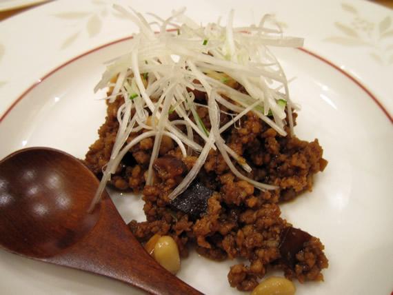 ひき肉の春餅(チュンピン)包み