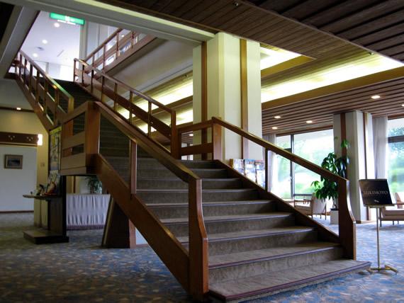 ホテル内1