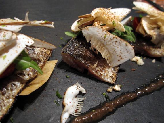 秋刀魚ミルフィーユ