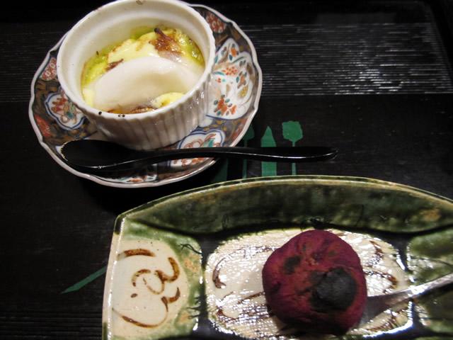 グラタン、紫芋