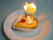 点火のケーキ