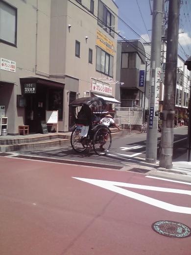 人力車走る