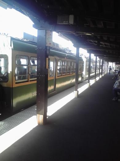 鎌倉高校前駅へ