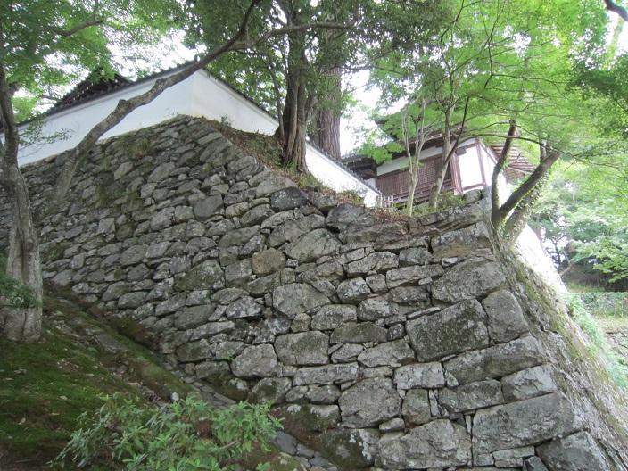 西教寺石垣