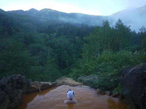露天風呂から。_R