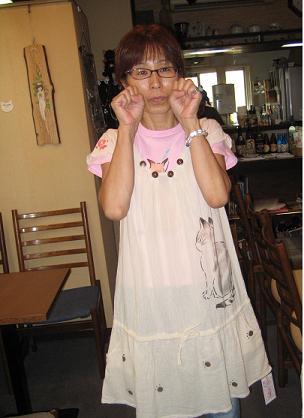 ぱちくり羽猫衣
