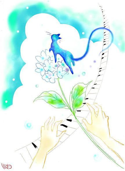 コピー ~ 幸せの青い猫新KANNSEI