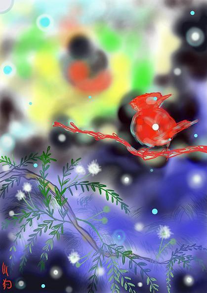 ねむの木の小鳥