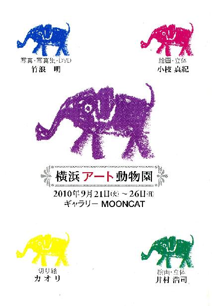 アート動物園DM